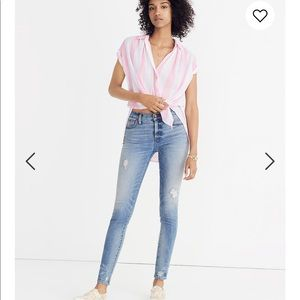 "ALL JEANS BOGO FREE🙌 Madewell 9"" High-Rise Jeans"